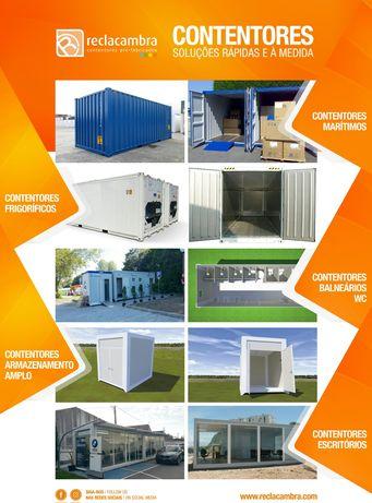 Aluguer e Venda de Contentores Obras/Farramenteiros-Estaleiros