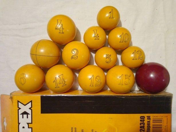 Бильярдные шары разных диаметров