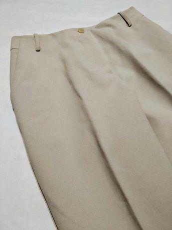 Брюки штаны бежевые базовые  офисные