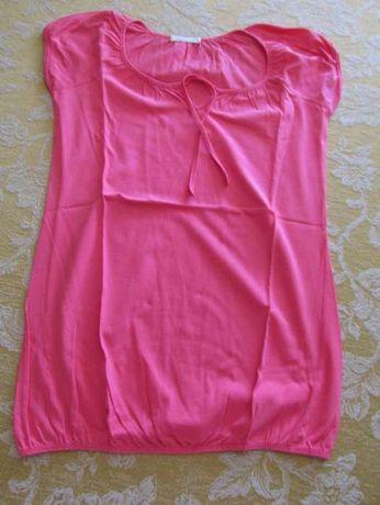 T-shirt Promod rosa com elástico