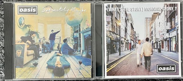 Oasis - Definitely Maybe / (What's the Story) Morning Glory? 2CD