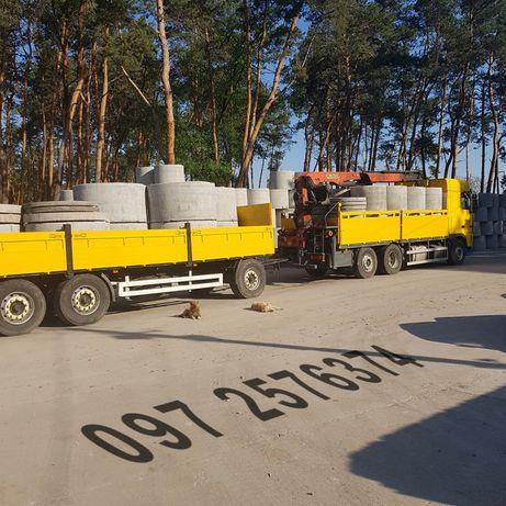 Кольца бетонные для канализации кс 20-9