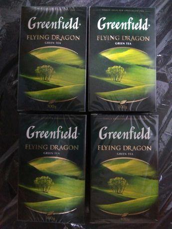 Чай зелений greenfield грінфілд