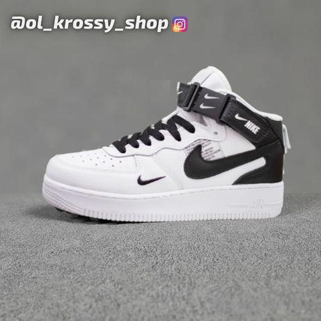 Nike Air Force   Кроссовки Найк Эир Форс   Унисекс   Ботинки   кеды