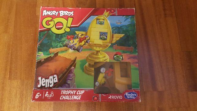 Jenga Angry Birds Trophy Cup challenge