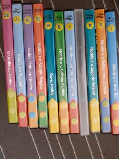 Aprender inglês com o Noddy - 11 DVD's - PORTES GRÁTIS