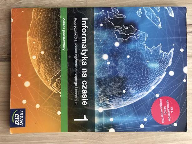 """Podręcznik """"informatyka na czasie"""" 1 dla liceum i technikum"""