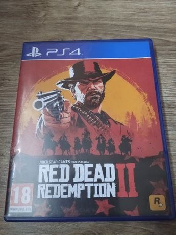 Gra PlayStation 4 RED DEAD Redemption II 2 PL PS4