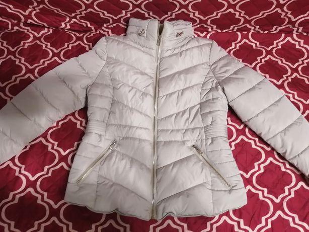 Демисезонная утеплённая куртка курточка на девочку р. 158-164 см.
