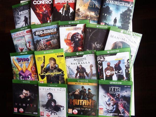 Xbox ONE / SERIES X Control VALHALLA UFC 4 Cyberpunk Metro SPYRO