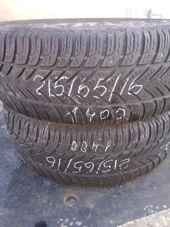 Зимние б/у шины Fulda Supremo Kristal 215 65 R16 зимові шини резина