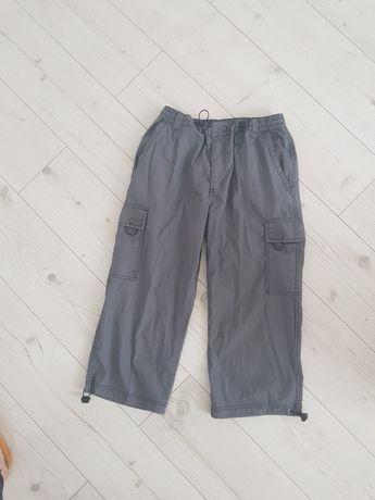 Krótkie spodnie męskie 48 szare