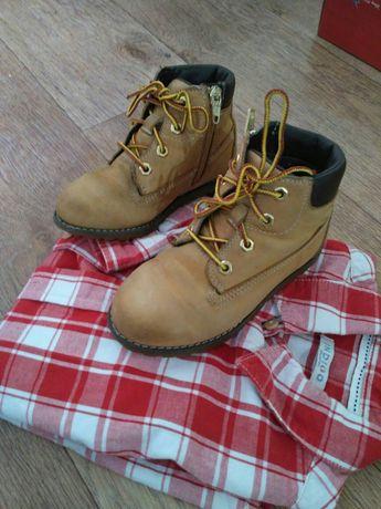 Ботинки стильные оригинал Timberland 28