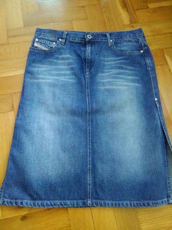 Jeansowa spódnica Diesel