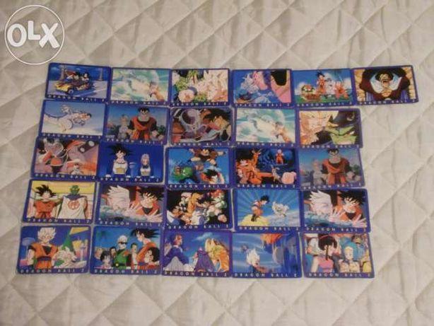 Cartas Dragon Ball Z Série 1
