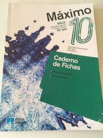 Caderno de Fichas de MACS