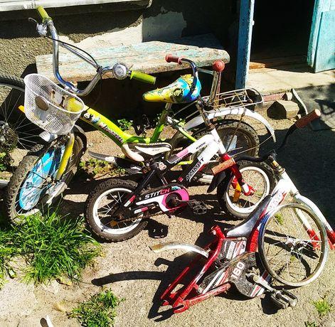 Велосипеды.