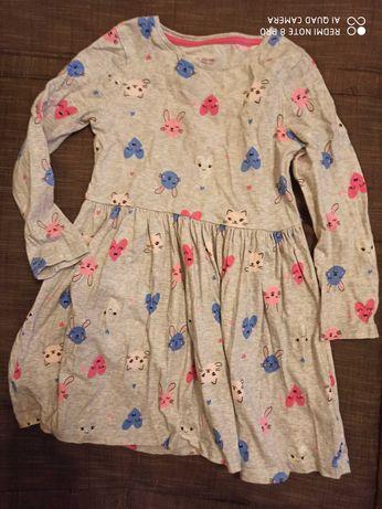 Sukienka F&f w serduszka 98 jak 104