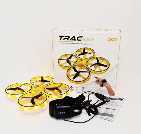Квадрокоптер Dron Trac дрон с сенсорным управлением руки браслетом