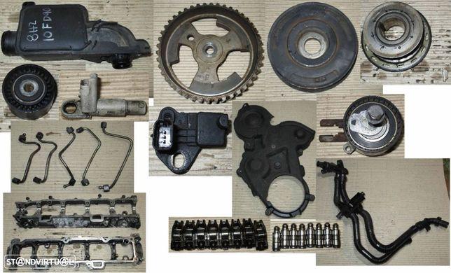 Peças várias para motor Ford Fiesta 1.4 tdci (2006) F6JB