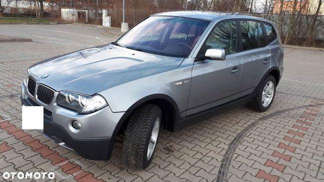 BMW X3 BMW X3 E83 4x4 2007 silnik 2.0. szary benzyna