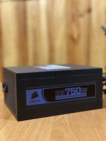 Игровой блок питания Corsair NX750W | 750w / полный комплект