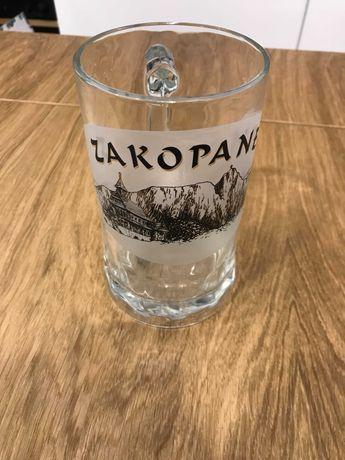 Kufel do piwa szklany duży