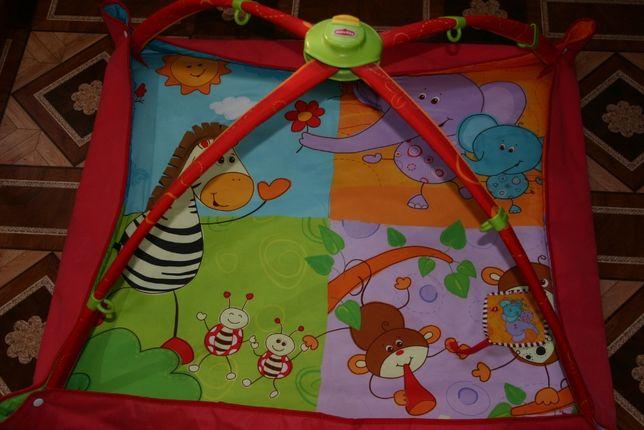 Детский развивающий коврик килимок Tiny Love
