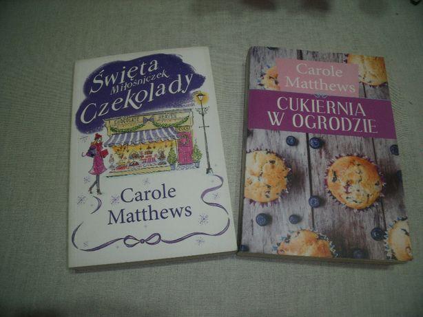 """Carole Matthews """"Cukiernia w ogrodzie"""""""