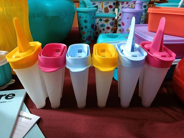 Formas para gelados Tupperware