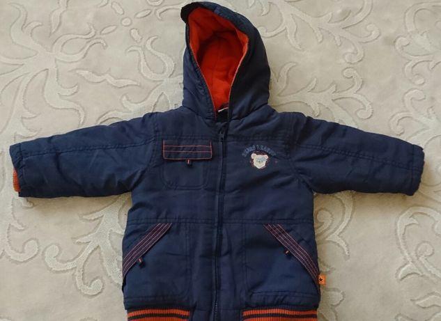 Куртка на 18-24 місяці, 86 см,демісезонна ,утеплена .