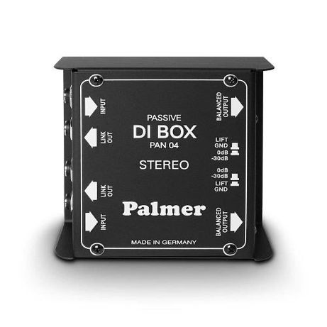 Пассивный DI-Box 2-канала Palmer Pro PAN04