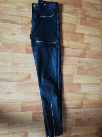 Spodnie woskowane Sinsay