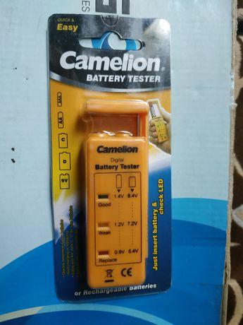 Проверка Тестер Camelion  для батареек и крон.Новый.