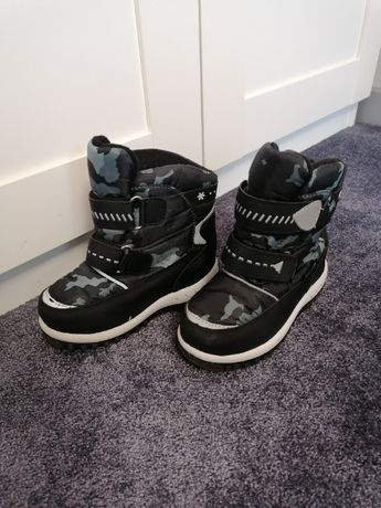 Buty zimowe, śniegowce, jak nowe rozm. 26
