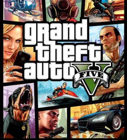 Jogo ps4 GTA 5 (PS4)