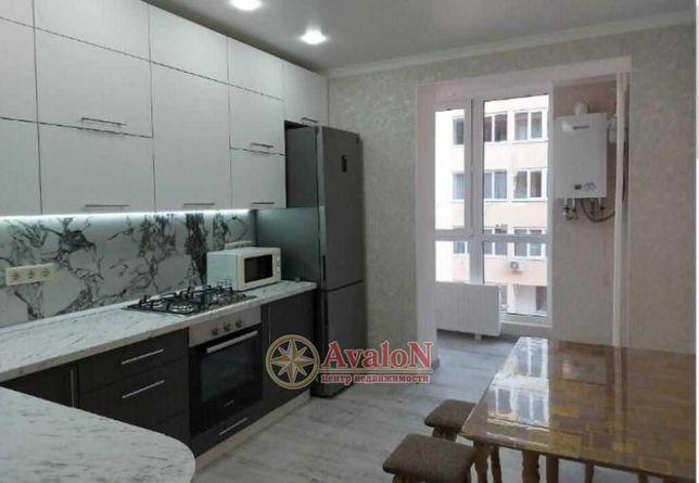Квартира с новым ремонтом в ЖК Чайка на Сахарова