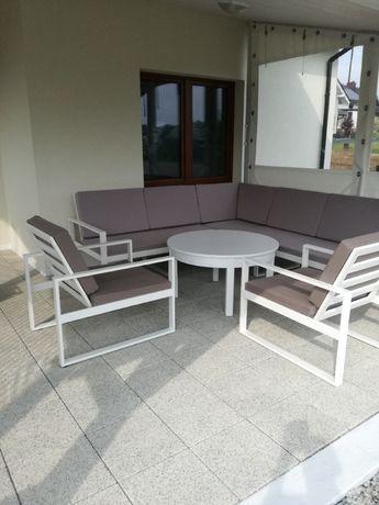 Zestaw wypoczynkowy ogrodowy , rogówka + 2 fotele , polecam !