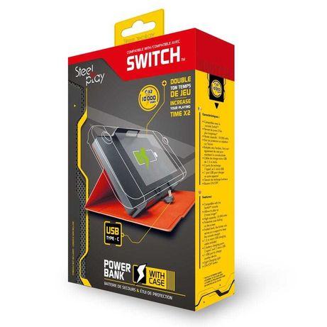 SteelPlay Powerbank 10000 mAh- Com capa   - Nintendo Switch