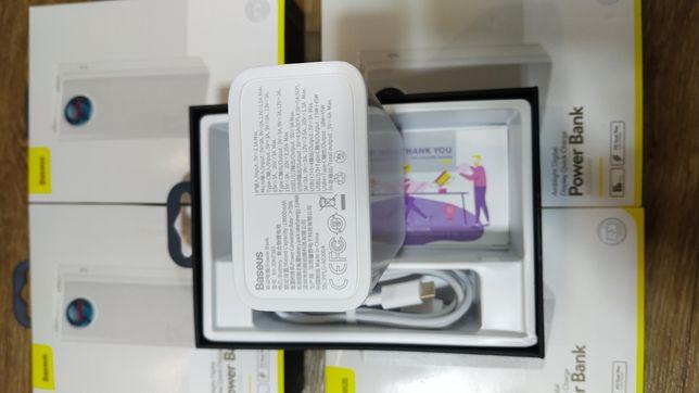 Самый мощный павербанк дополнительная батарея 65W Baseus 30000 mAh