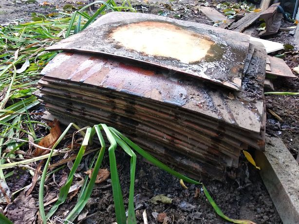 Линолеум, порезан плиткой