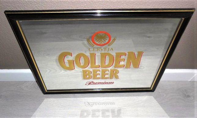 Espelho Publicitário Cerveja Golden Beer
