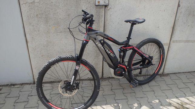 rower elektryczny haibike 150-150/wspomaganie50km/h/yamaha/xt/fox/2x10
