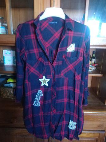 Camisa/vestido Bershka