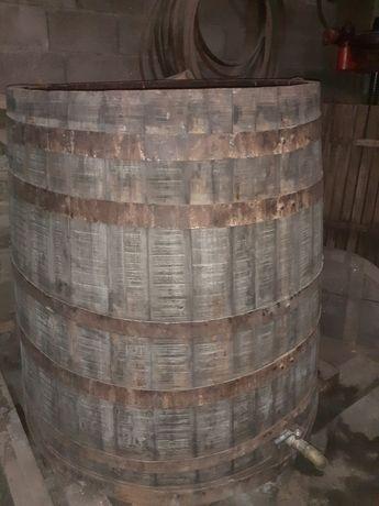 Dornas de madeira