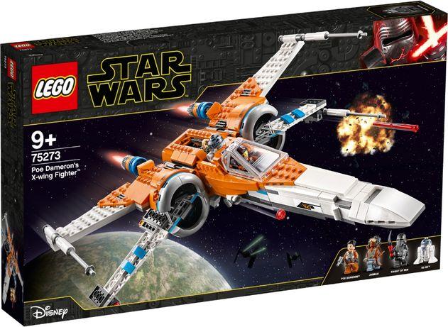 Конструктор LEGO Star Wars Истребитель типаХ По Дамерона (75273) Новий