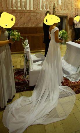 Suknia ślubna rozm. S/M