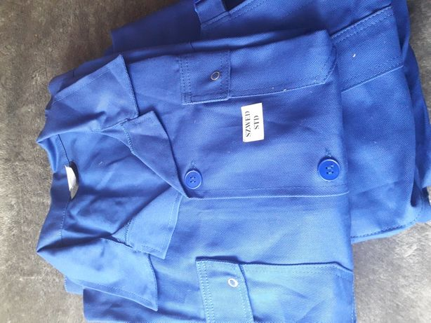 Ubranie robocze bluza plus ogrodniczki
