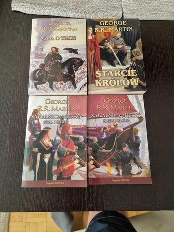 """Książki George R.R. Martina seria """"Gra o tron"""" 16 zł/1 szt."""