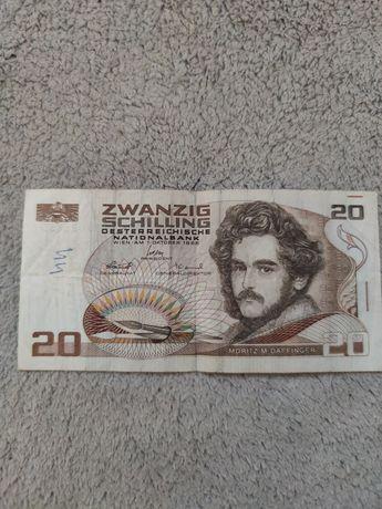 Banknot 20 schilling